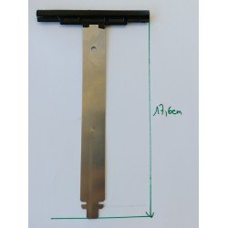 Attache tablier lame de 8 mm