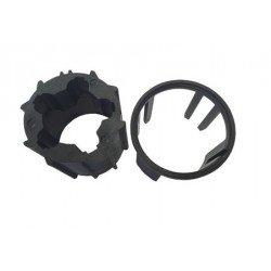 Roue et couronne pour moteur Ø50 mm