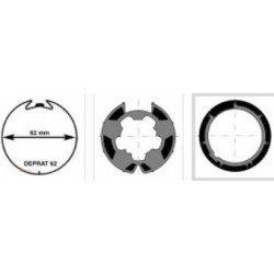 Kit roue/couronne Axe...