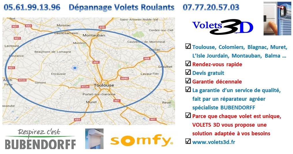Dépannage Volet Roulant Bubendorff